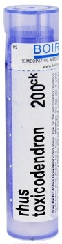Boirno Rhus Toxicodendron 200ck, 80 pellets