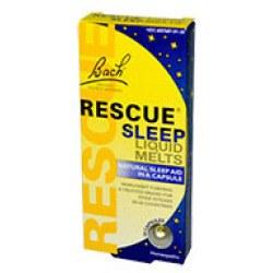 Bach Remedies Rescue Sleep Liquid Melts, 28 capsules