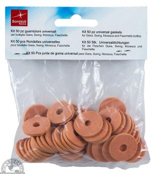 Bormioli Rocco Rubber Gasket, 50 pieces