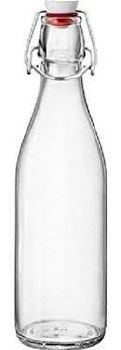 Bormioli Rocco 17 oz. Glass Bottle with Swing Stopper