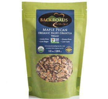 Back Roads Granola Organic Maple Pecan Granola, 12 oz.