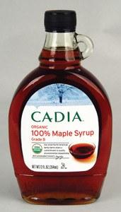 Cadia Organic Dark Maple Syrup, 12 oz.