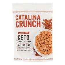 Catalina Crunch Keto Cinnamon Toast Cereal, 9 oz.