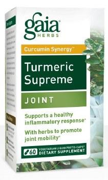 Gaia Herbs Tumeric Supreme: Joint, 60 vegetarian capsules