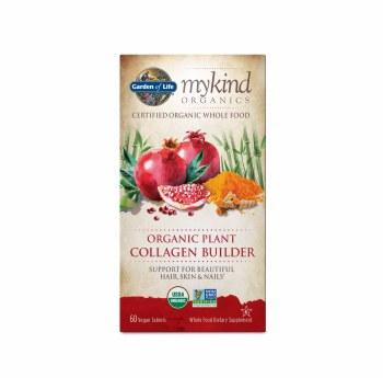 Garden of Life Mykind Organics Plant Collagen Builder, 60 vegetarian tablets