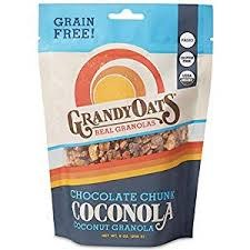 Grandy Oats Chocolate Chunk Granola Coconola, 9 oz.