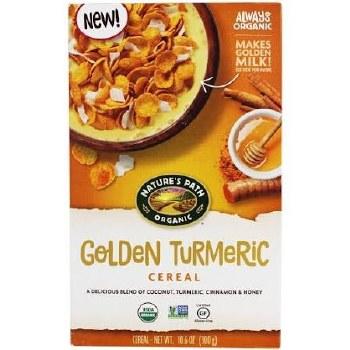Nature's Path Organic Golden Turmeric Cereal, 10.6 oz.