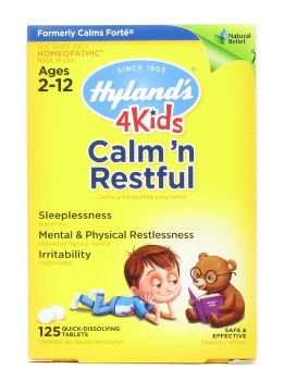 Hyland's 4Kids Calm 'n Restful, 125 quick-dissolving tablets