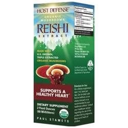 Fungi Perfecti Host Defense Reishi, 2 oz.