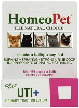 HomeoPet Feline UTI+, 15 ml