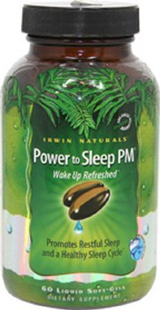 Irwin Naturals Power to Sleep PM, 60 soft gels