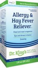 King Bio Alergy & Hay Fever Reliever, 2 oz.