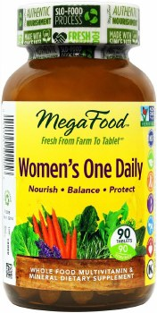 MegaFood Women's One Daily, 90 tablets