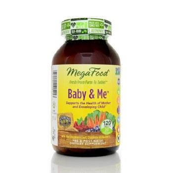 MegaFood Baby & Me, 120 tablets