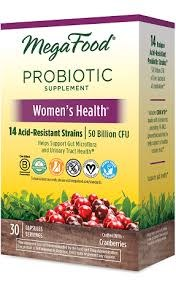 MegaFood Women's Health Probiotic, 30 count