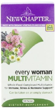 New Chapter Women's Advanced MultiVitamin, 120 tablets