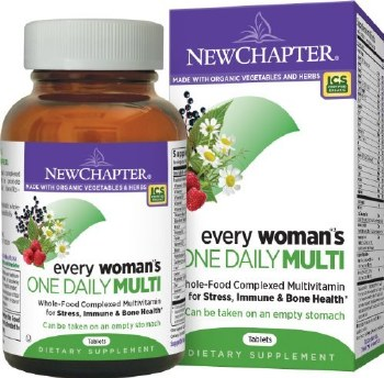 New Chapter Every Women's One Daily MultiVitamin, 48 tablets