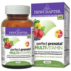 New Chapter Perfect Prenatal MultiVitamin, 48 tablets