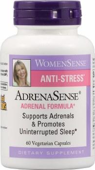 Natural Factors AdrenaSense Adrenal Formula, 60 vegetarian capsules