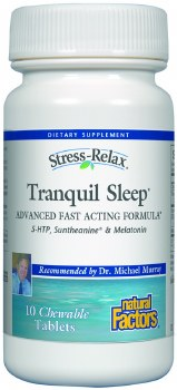 Natural Factors Tranquil Sleep, 10 tablets