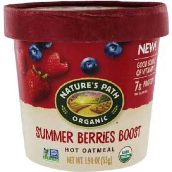 Nature's Path Summer Berries Boost Oatmeal Cup, 1.94 oz.
