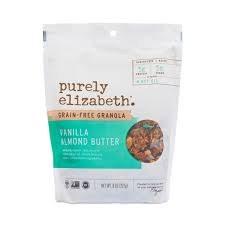 Purely Elizabeth Vanilla Almond Granola, 8 oz.
