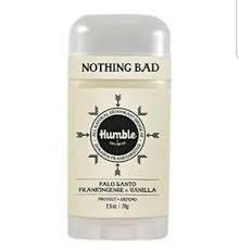 Humble Brands Palo Santo Deodorant, 2.5 oz.