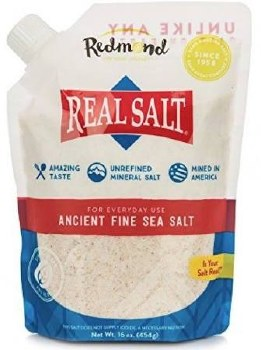 Redmond's Fine Sea Salt, 16 oz.