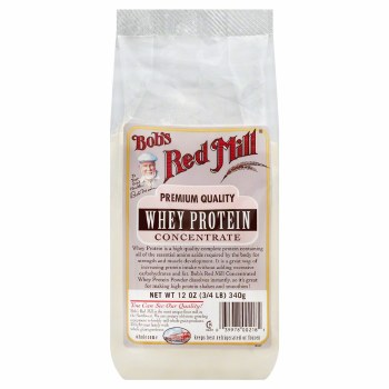 Bob's Red Mill Premium Quality Whey Protein Powder, 12 oz.