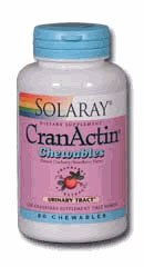 Solaray CranActin Chewable 60 capsules