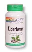 Solaray Elderberry 575mg 100 capsules