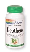 Solaray Eleuthero 425mg 100 capsules