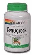 Solaray Fenugreek 620mg 100 capsules