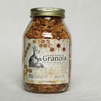 Small World Foods Honey Bunney Granola, 13 oz.