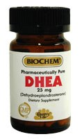 BioChem DHEA 25mg 30 vegetarian capsules