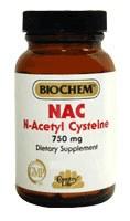 Country Life NAC N-Acetyl Cysteine 750 milligrams 60 vegetarian capsules