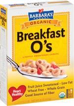 Barbara's Bakery Breakfast O's Cereal 12 oz