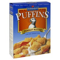 Barbara's Bakery Puffins Peanut Butter Cereal 11 oz