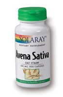 Solaray Avena Sativa 400mg 100 capsules
