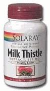 Solaray Milk Thistle 175mg 60 capsules