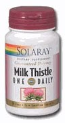 Solaray Milk Thistle One Daily 350mg 60 capsules