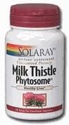 Solaray Milk Thistle Phytosome 200 mg 30 capsules