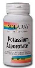 Solaray Potassium Asporotate 100 capsules