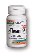 Solaray L-Theanine 200mg 45 capsules