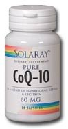 Solaray CoQ10 60mg 60 capsules
