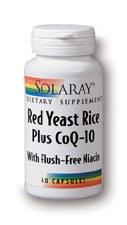 Solaray Red Yeast Rice+ CoQ10 90 capsules