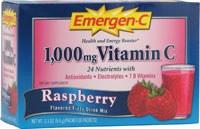 Alacer Raspberry Emergen-C, 30 packets