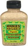 Annie's Homegrown Organic Horseradish Mustard, 9 oz.