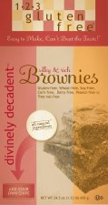 123 Gluten Free Divinely Decadent Brownie Mix 24.5 oz