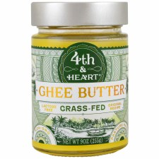 4th & Heart Original Grass Fed Ghee, 9 oz.